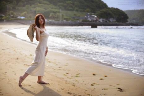 Location fashion shoot in Kyushu