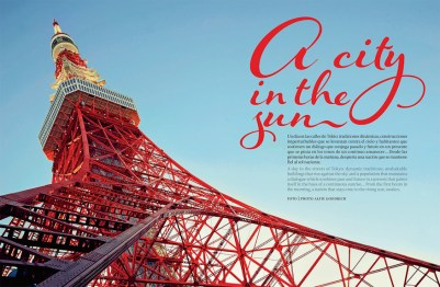 Feature for Air Mexico magazine