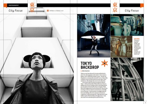Fashion feature for InTokyo magazine