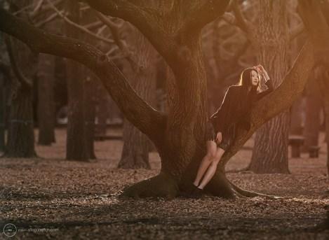 Mari Hirao in Yoyogi Park