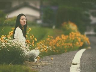 Mari Hirao in Futtsu: fashion photography in Japan