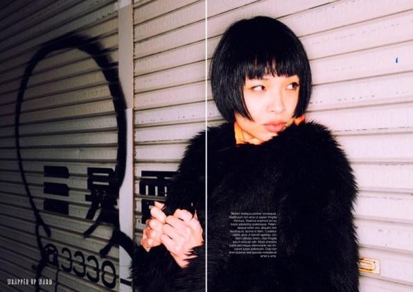Fashion shooting with Shinyong