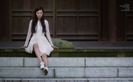 Fashion shooting, Kamakura