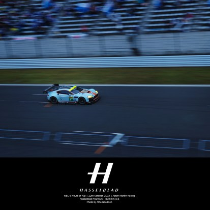 6hrs of Fuji race for Hasselblad and Aston Martin Racing