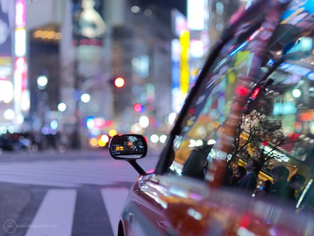 Night photography in Tokyo with H4D-40 and 100mm lens