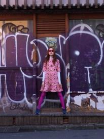 Fashion shoot with Italian editor of iD magazine for ArtMoodOn.com