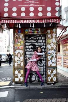 Reverie in Harajuku: shoot for www.artmoodon.com