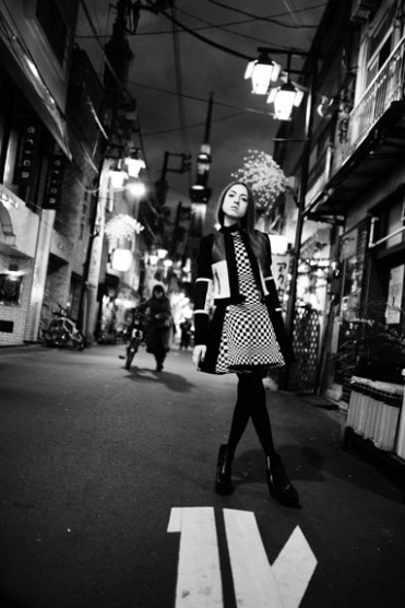 Street fashion in Asakusa, with Reverie