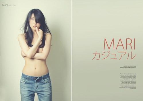 Mari Nishimura: concept shoot