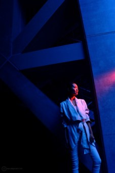 Mari at the Tokyo International Forum