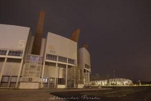 photogrAFI: Nocturnas Geométricas (Buesa Arena, Ataria y Edificio Vital)