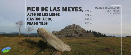 MendiaK: Pico de las Nieves y sus cimas