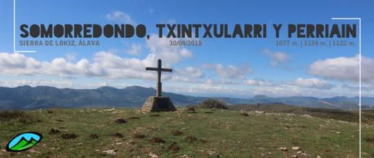 MendiaK: Somorredondo, Txintxularri y Perriain
