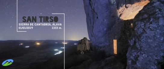 MendiaK: San Tirso (Primer Amanecer de 2019)