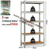 Alfim furniture Nigeria Boltless steel shelving rack _4_3_2