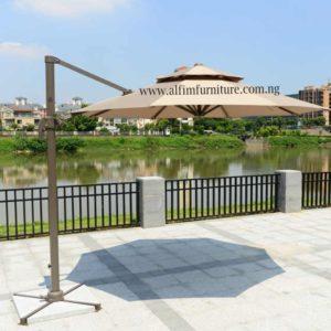Alfim furniture 3m dia Roma Umbrella Parasol_wm
