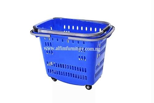 Alfim furniture Executive basket trolley folded_wm