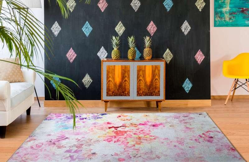 Alfombra Motivos Florales Bouquet 93 Multi