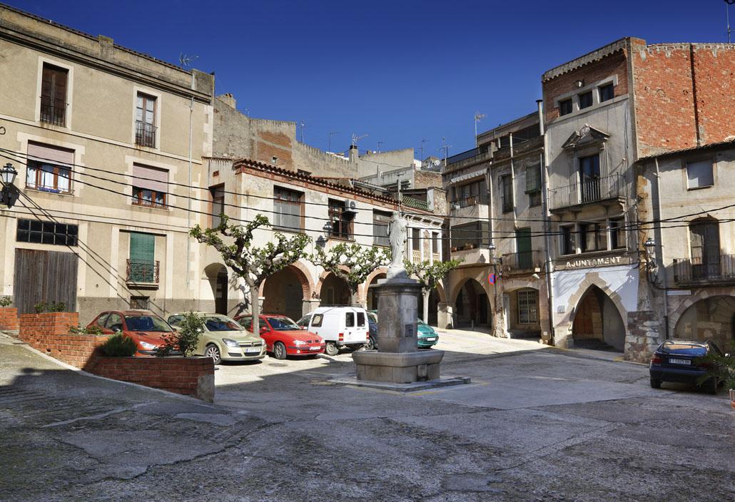 Plaça del  Mercadal.