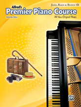 Alfred's Premier Piano Course, Jazz, Rags & Blues, book 1B