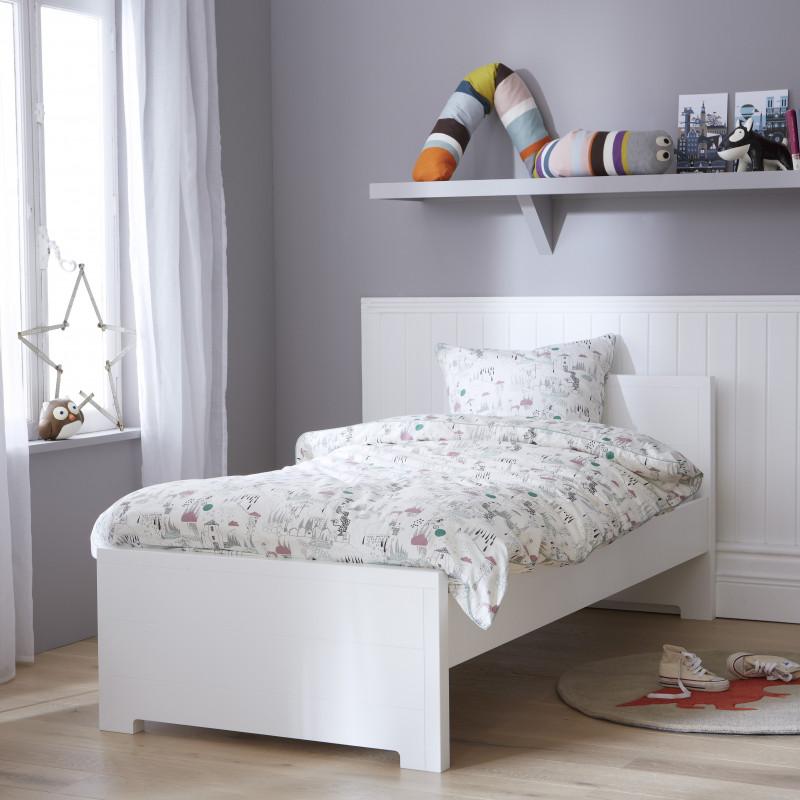 lit enfant blanc 90x190 oscar et emma
