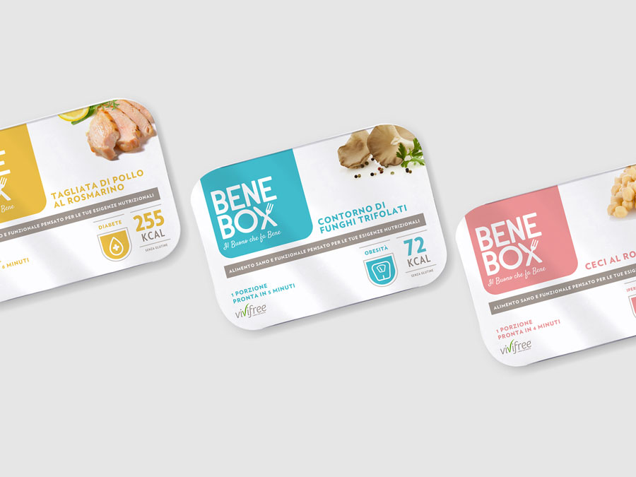 Alfredo Carbone - BeneBox packaging