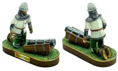 Artigliere inglese - Battaglia di Azincourt