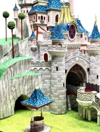 Castello Bella Addormentata Disneyland Paris