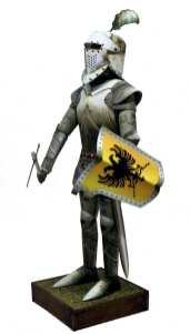 Cavaliere in armatura scala 1:9