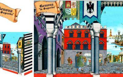 Genova La Superba – Quadro 3D – Download del modello