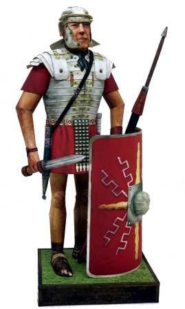 Legionario romano scala 1:9