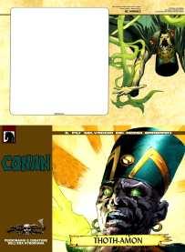 Postcard Thot Amon