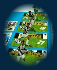 Progetto figurine calciatori 3D - Juventus 2013-14