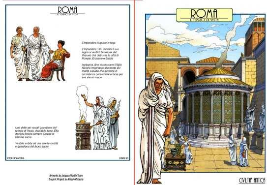 Roma - Il Tempio di Vesta