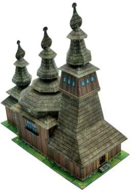 Chiesa di legno a Ladomirovà
