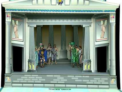 Teatri scenografici - Teatro greco