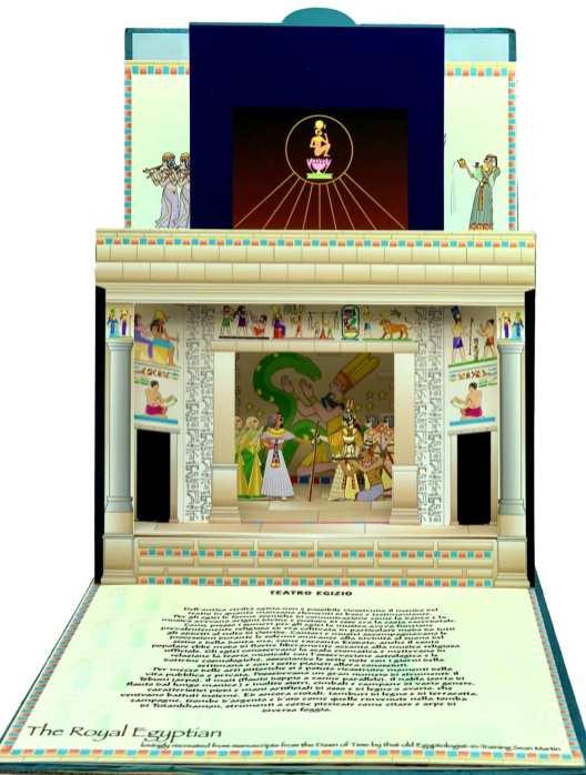 Teatri scenografici - Teatro egizio