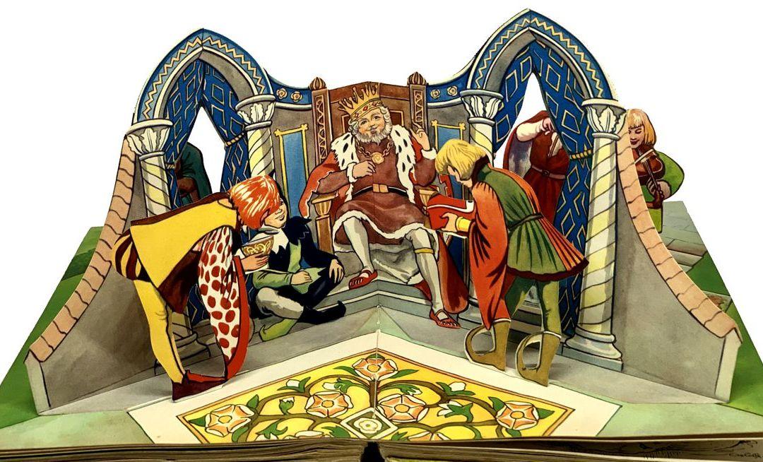 King Coel una leggenda di Colchester – Scena pop up – Download del modello