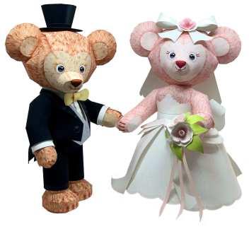Orsetti sposi