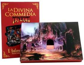Special card L'Inferno di Dante