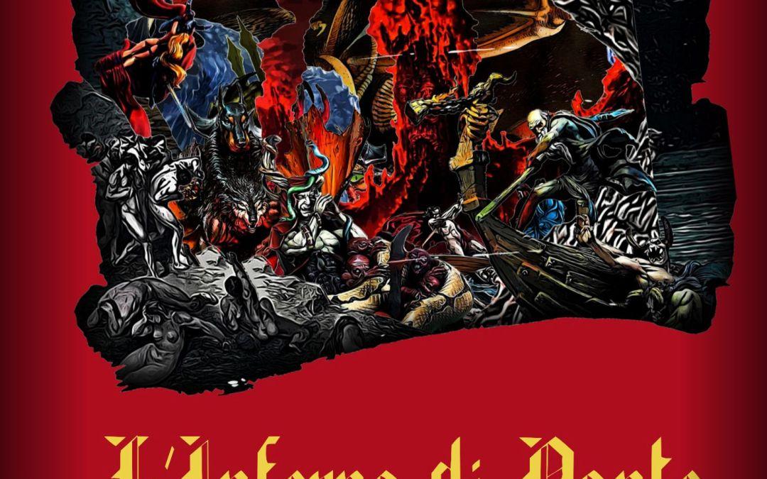 Special card telescopic view –  L'Inferno di Dante