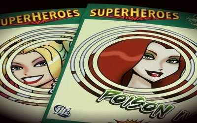 Paper Dolls Emotions – Superheroes 3D Cards