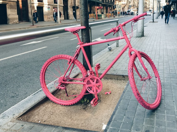 Pink Bicycle by Alfredo Liétor Photography
