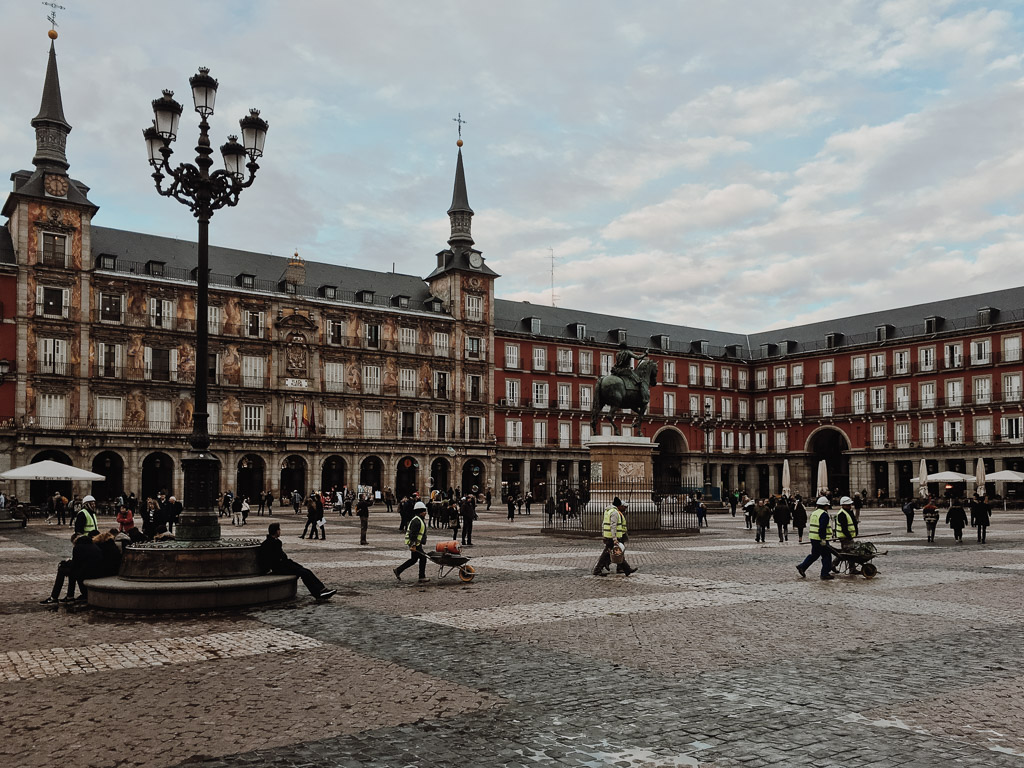 Plaza mayor. Madrid by Alfredo Liétor Photography