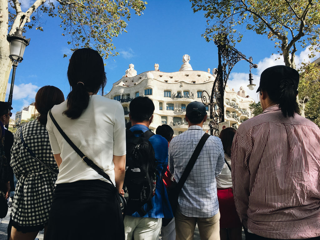 Turists. Barcelona by Alfredo Liétor Photography