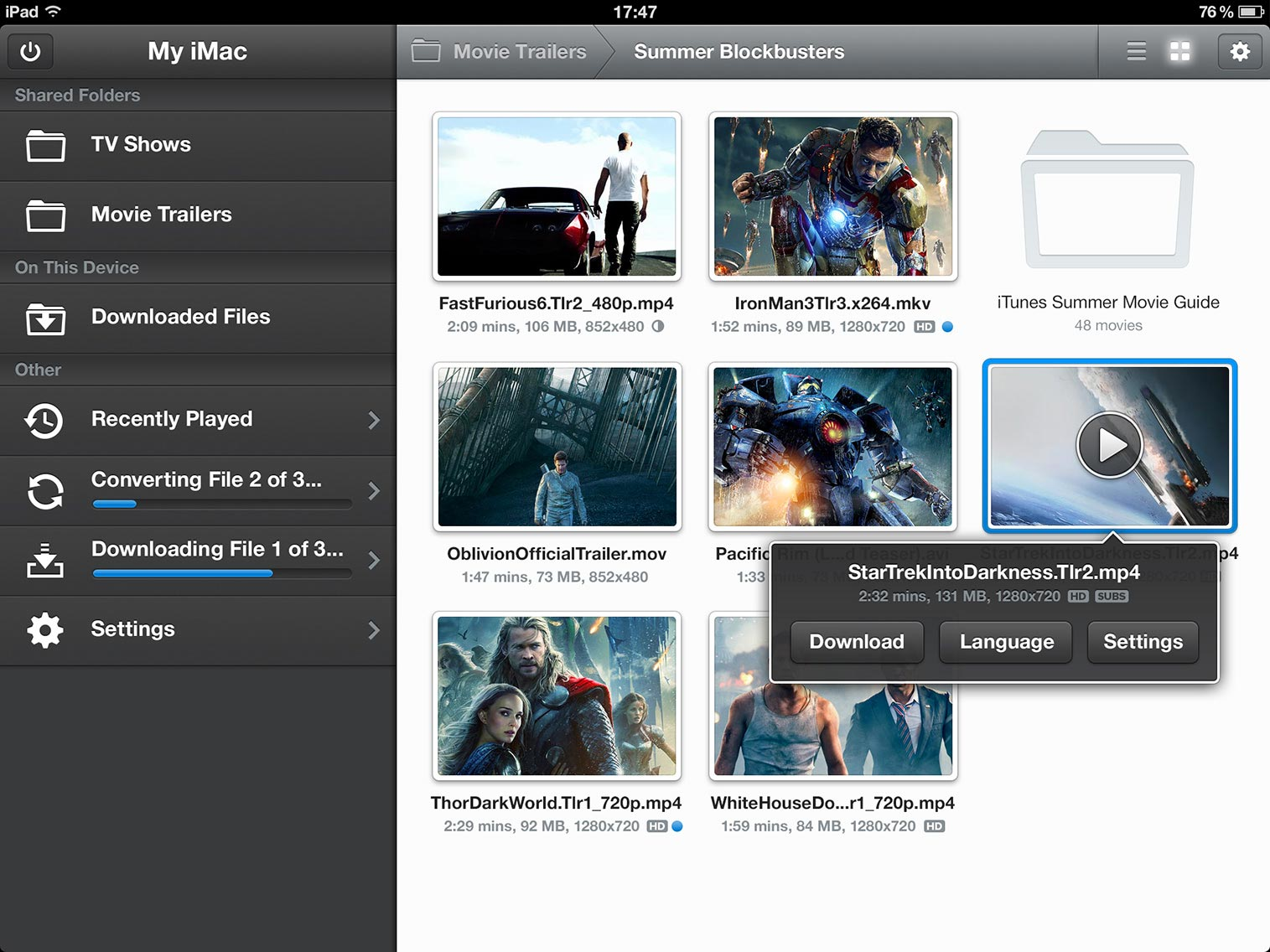 how to play mkv on ipad