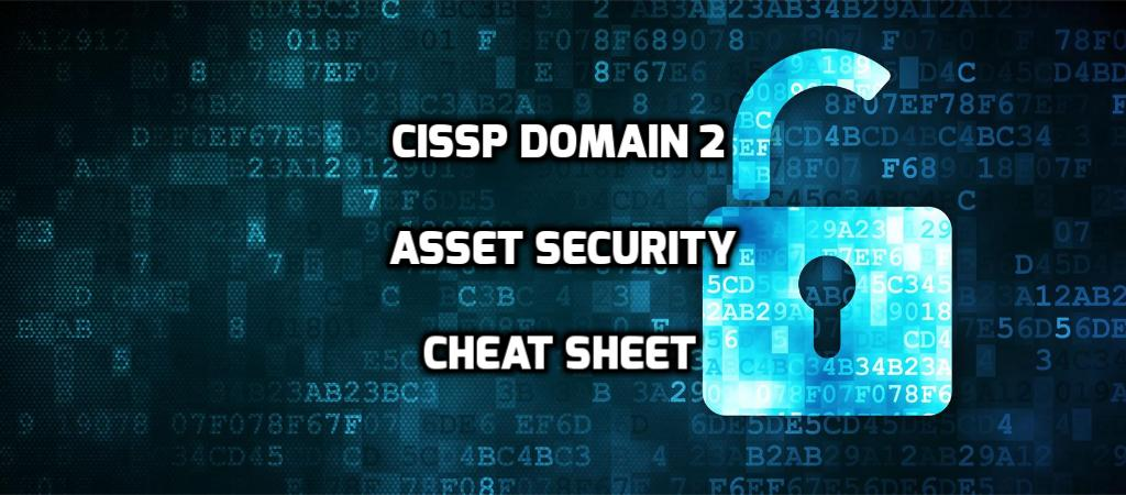 CISSP Domain 2 Asset Security Cheat Sheet - Page 3 of 3