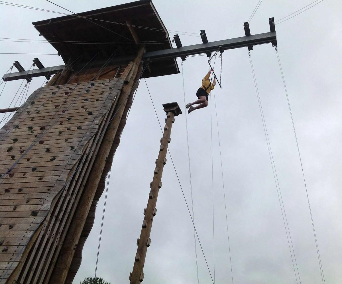 leap of faith longridge whole school event