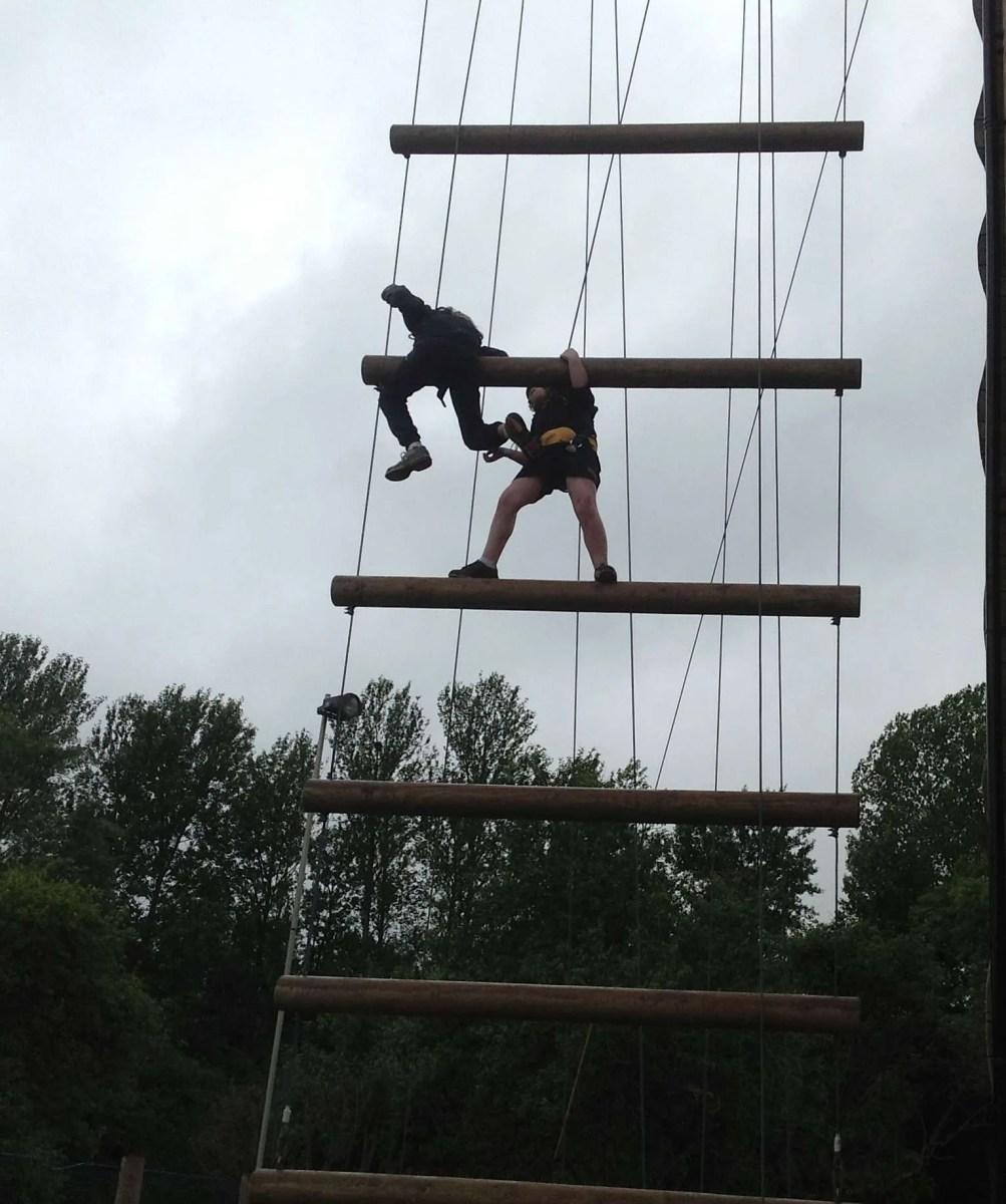 spiders on jacobs ladder longridge whole school event