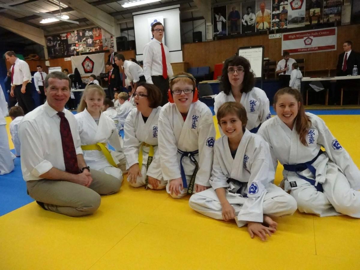 karate at alfriston school